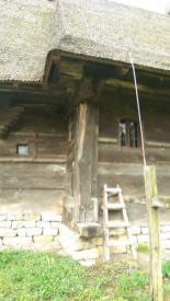 biserica din stejar din Coruia Maramures (22)