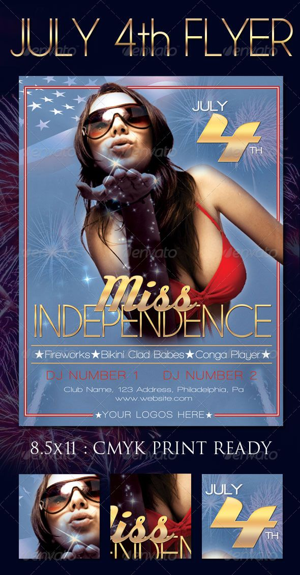22 best Flyers images on Pinterest Fonts, Templates and Flyers - independence day flyer