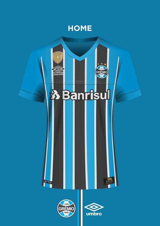 9e1b38c94fda3 Leitor MDF  Camisas do Grêmio FBPA 2018-2019 Umbro (Felipe Felicetti ...