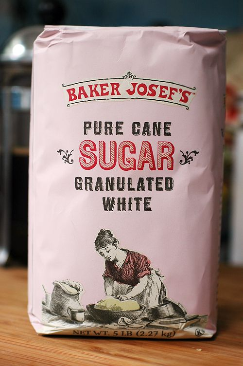 Trader Joe's sugar packaging « BEAUTIFUL type + Illustration treatment!!!