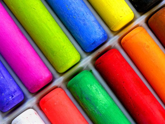 Artist Side Walk Chalk for the Art Fair by VISIONAGE on Etsy