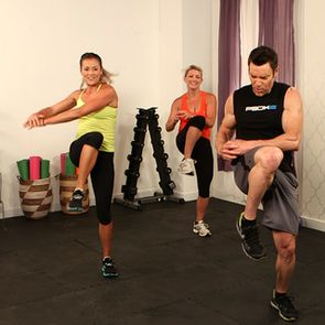 10-Minute Full-Body Workout With P90X's Tony Horton. Many 10 minute workouts to mix and match your own workout.