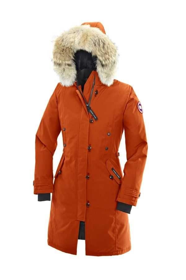 canada goose kensington parka sunset orange for women women canada rh pinterest com
