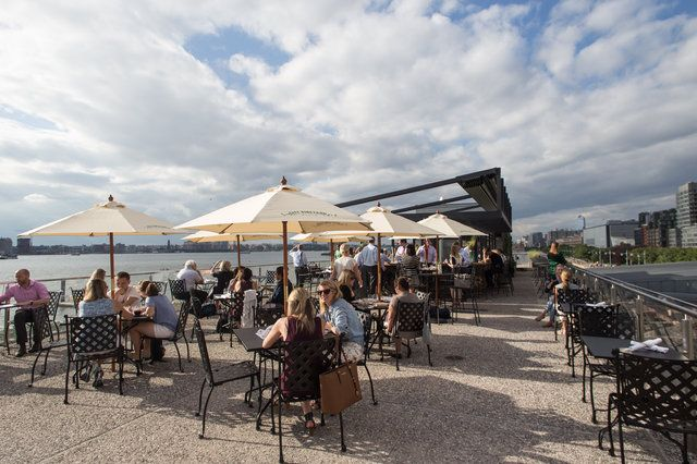 Alfresco Dining Waterfront American City Vineyard At Pier 26 Select 10 233 West St New York Btwn N Moore Hubert St City Winery City Vineyard