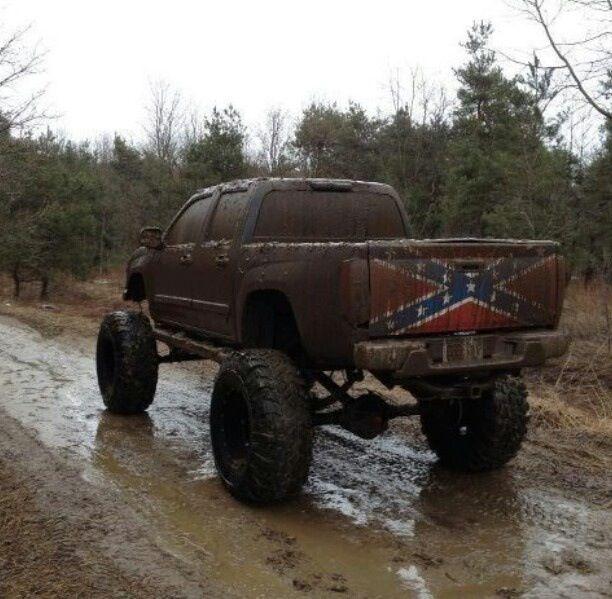 jacked up chevy trucks mudding - photo #21
