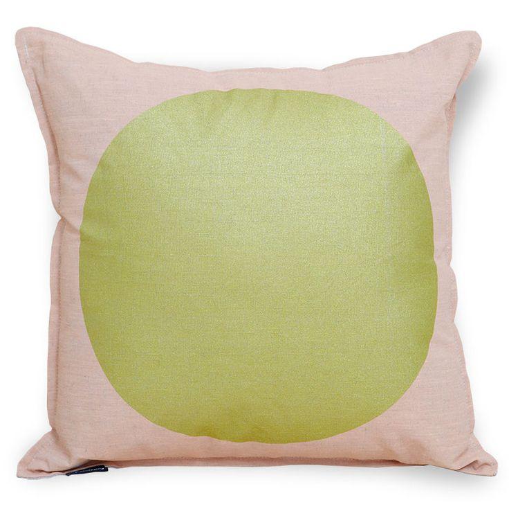 All That Glitters Cushion - Peach