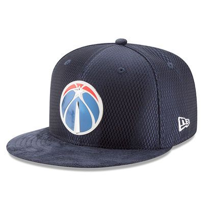Washington Wizards New Era 2017 NBA Draft Official On Court Collection 59FIFTY Fitted Hat - Navy