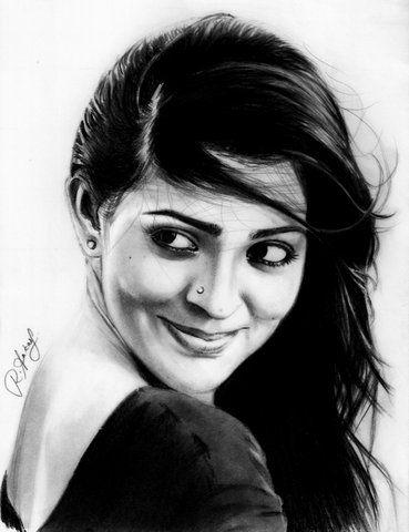 """Parvathy Menon"" by AakashRamesh on DeviantArt"