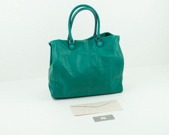 Maxi-bolso verde Gabs