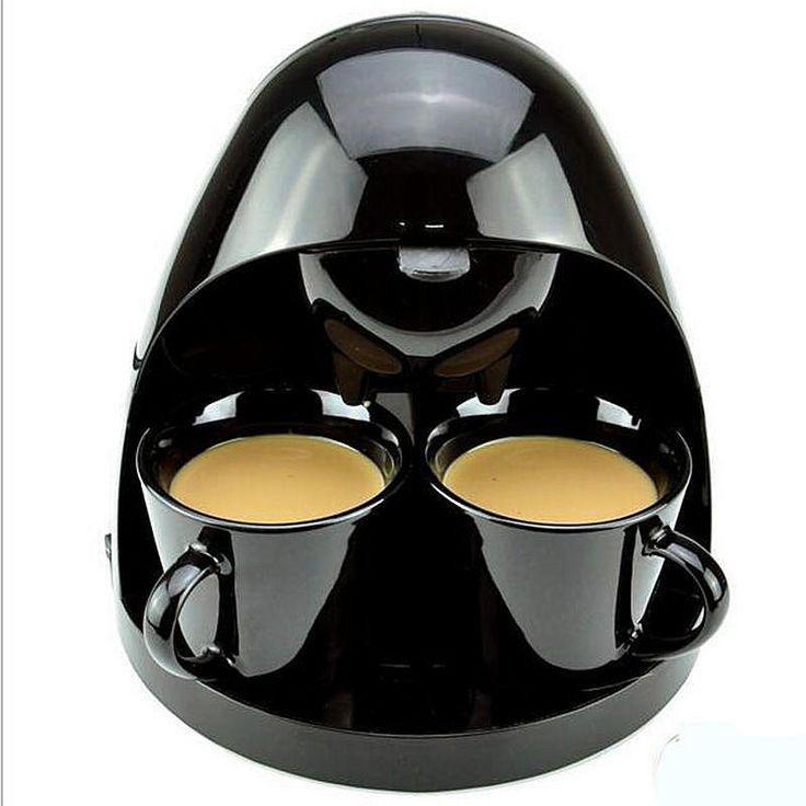 220V 350W Coffee Machine Espresso Maker Fully Automatic 2 Cups American Coffe Latte