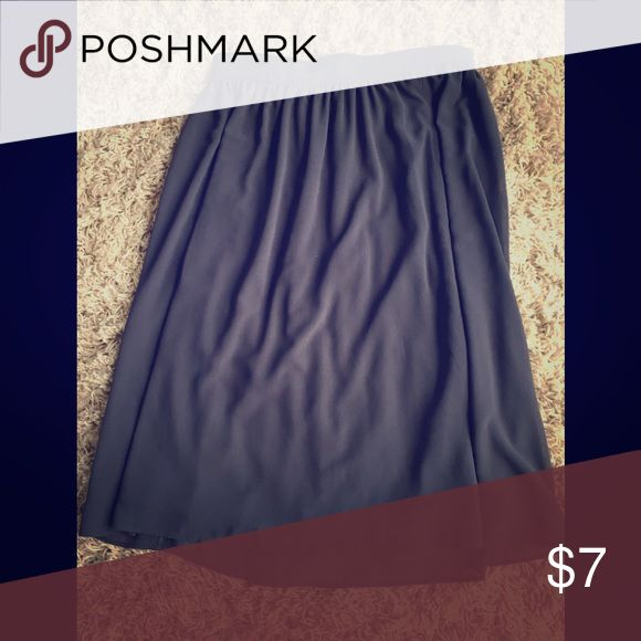 Gray Skirt Perfect for a night out! Skirts High Low
