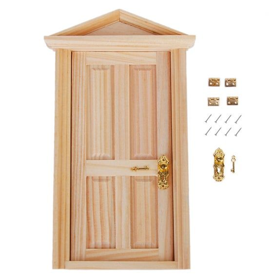 12pcs Cabinet Closet Mini Hinge For 1 12 Dollhouse Miniature Etsy Miniature Furniture Golden Furniture Solid Wood Doors Exterior