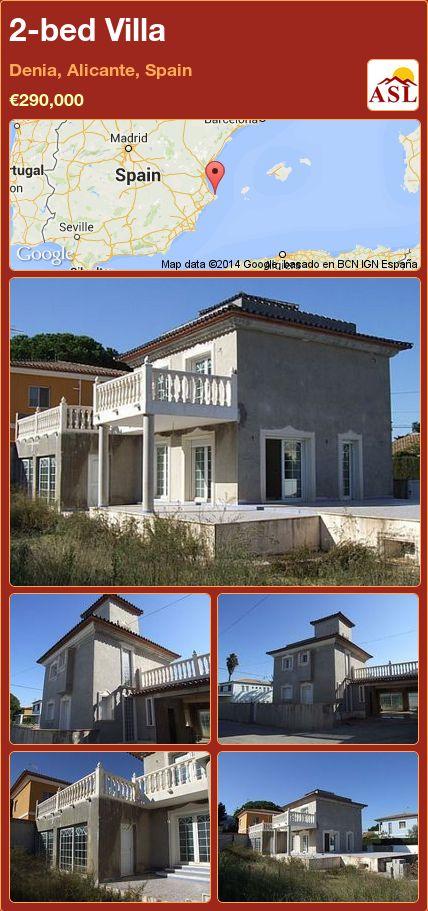 2-bed Villa in Denia, Alicante, Spain ►€290,000 #PropertyForSaleInSpain