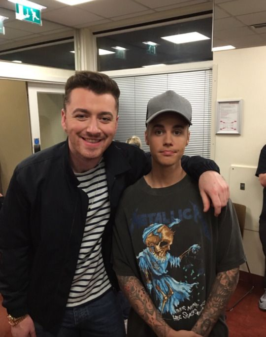 Sam Smith & Justin Bieber