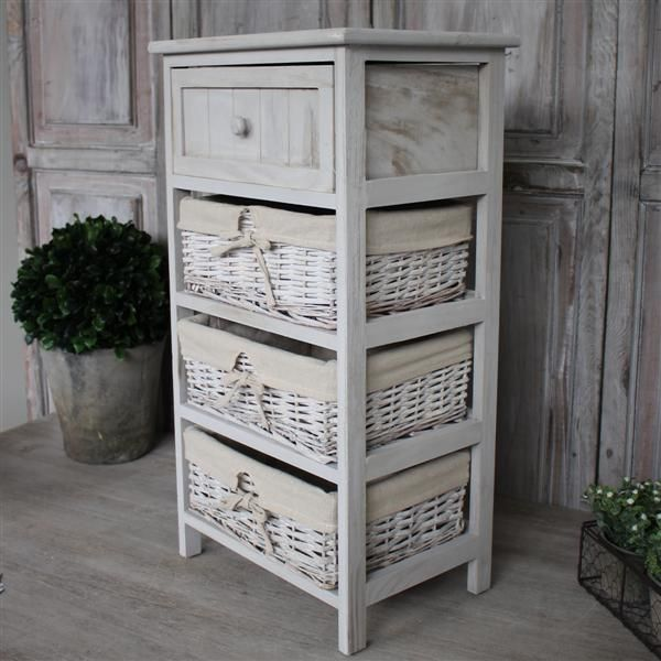 Bedside Table With Baskets [1204116] - R799.00 : BIGGIE BEST