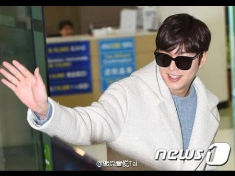 Lee Min Ho -  It's Airport Fashion Time!!! He's So Handsome and Cute