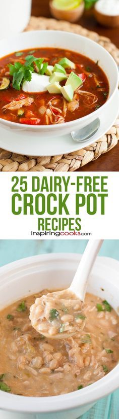 25 Dairy-Free Crock Pot Recipes