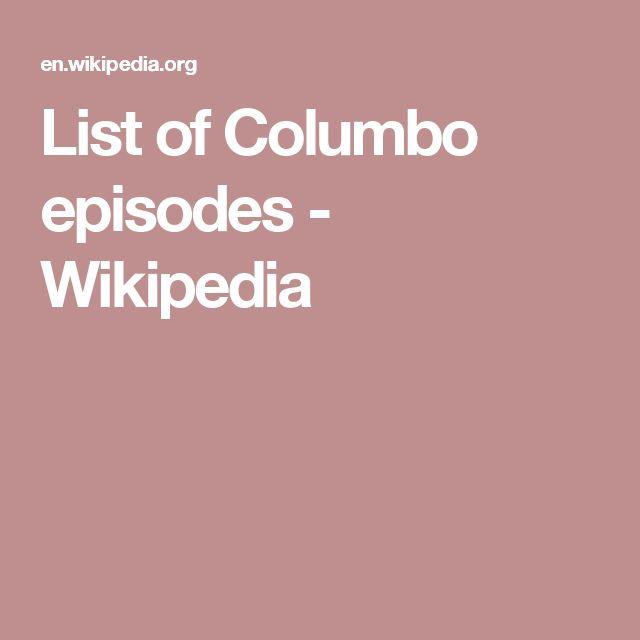 best 25 columbo episodes ideas on pinterest columbo