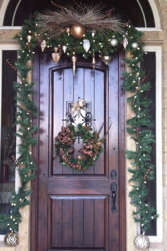 1000 ideas about christmas entryway on pinterest xmas for Foyer christmas decorating ideas