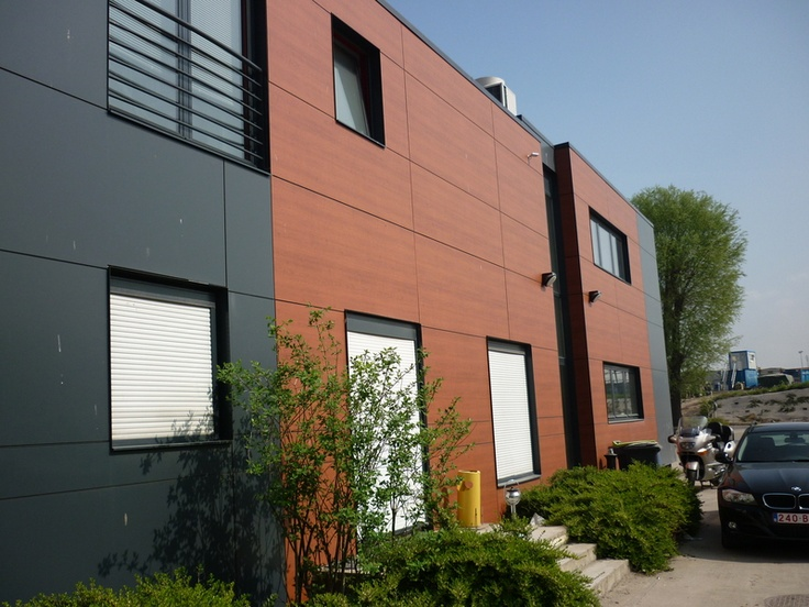 rockpanel colours ral 7016 woods acajou fassaden pinterest fassaden balkon und wohnen. Black Bedroom Furniture Sets. Home Design Ideas