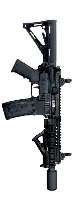 AR-15 Thor Talon. I like the dimensions of the handguard and barrel on this one.