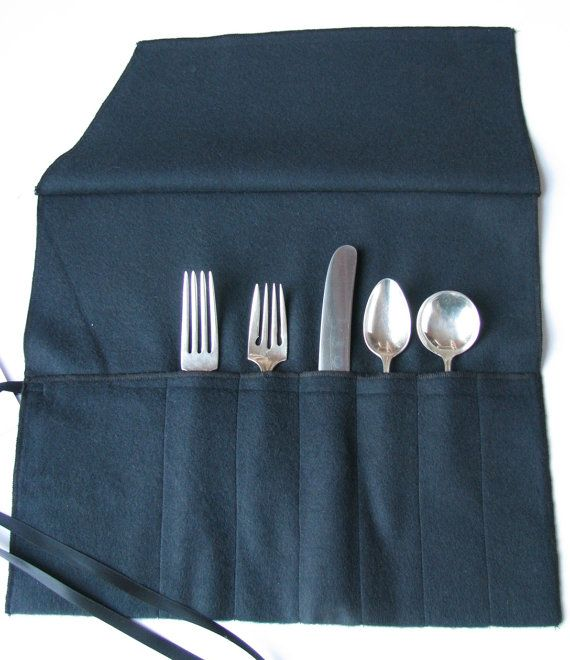 ANTI TARNISH Flatware ROLL Silverware by SherwoodSilverBags  Flatware storage / silverware storage  4