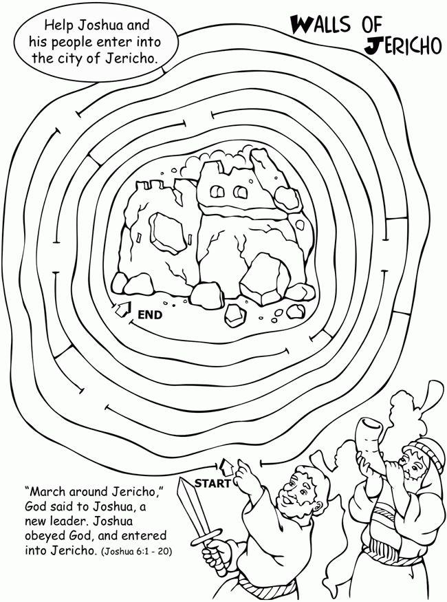 Walls of Jericho maze Battle
