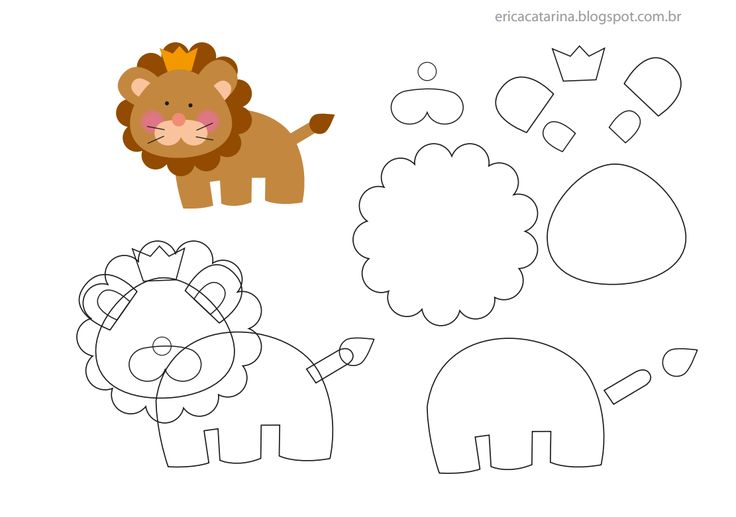 lion #pattern #template