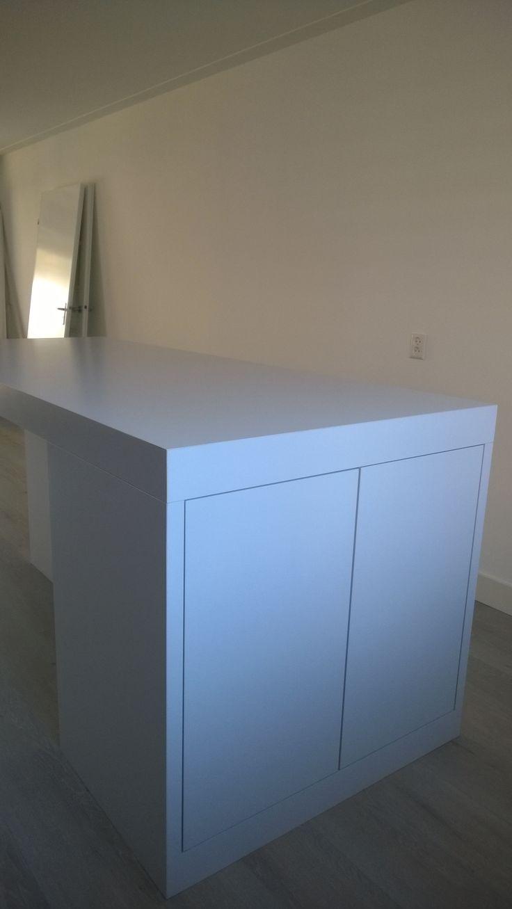 push to open lade en deur in keuken bar tafel kastje