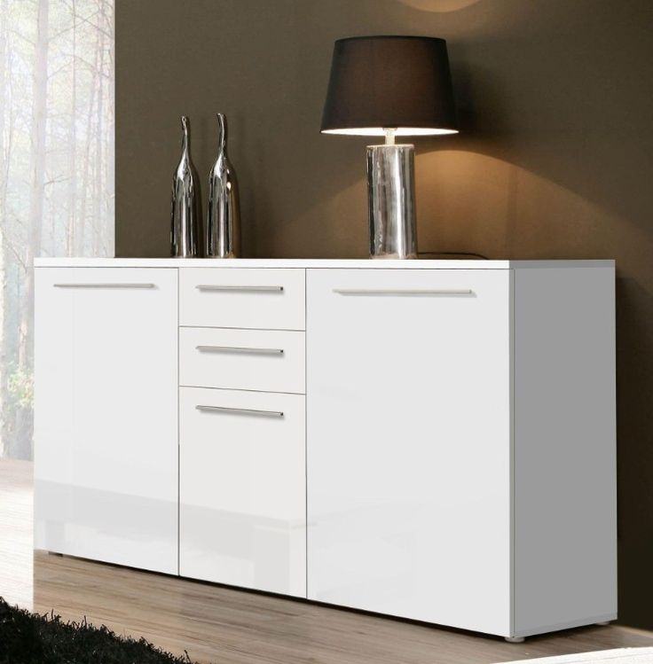 53 best images about weiße hochglanz sideboards on pinterest,