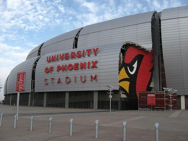 University of Phoenix Stadium, Home of the Arizona Cardinals