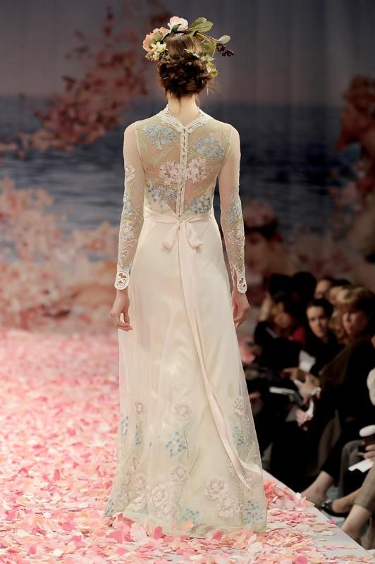 Diana - Back View | Claire Pettibone, Spring 2013