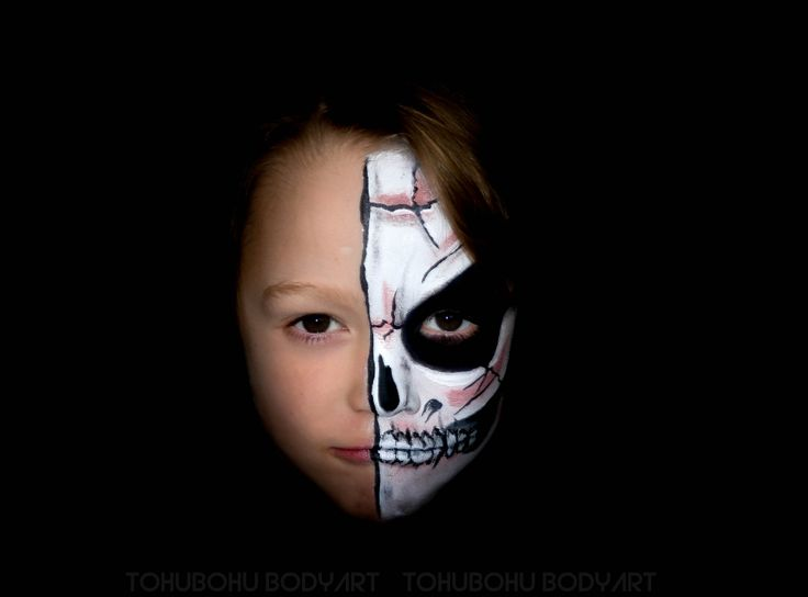 face painting skeleton maquillage enfant squelette. Black Bedroom Furniture Sets. Home Design Ideas