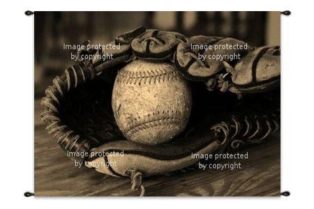 Baseball Wall Art   Custom Sizes   Canvas Wraps   Wall Hangings & Tapestries featured at http://www.visionbedding.com/WallArt/Baseball.php  #BaseballWallArt, #BaseballTheme, #CustomWallArt