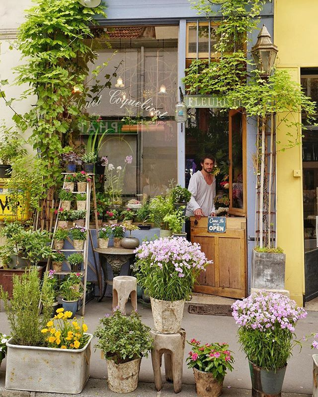 Paris One Of My Favorite Flowers Shop In Paris I The