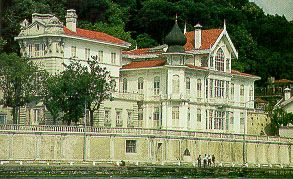 The Huber Mansion and Afif Pasha Yali (wrong description on webpage)