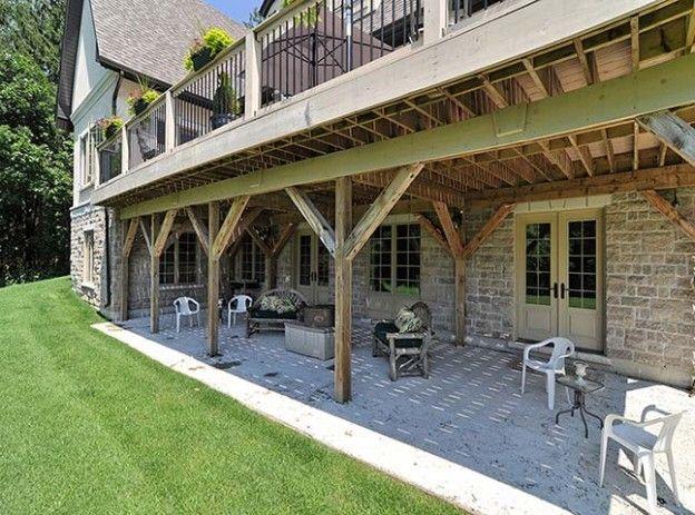 Best 25+ Walkout basement patio ideas on Pinterest | Deck ... on Walkout Basement Patio Designs id=42833