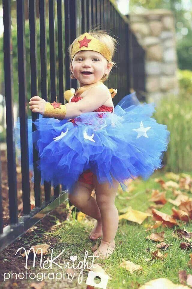 Baby Wonder Woman  Baby Girl Stuff  Baby Halloween -8639