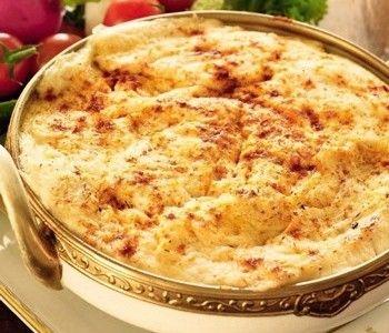 Рецепт картофельной запеканки с рыбным фаршем