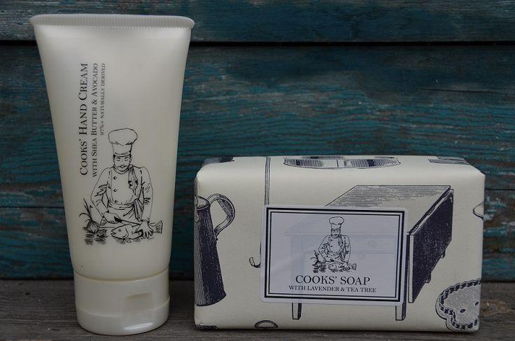 Handgjorda tvålar från England med tillhörande handkräm www.stilfull.se