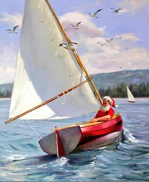 49 Best Christmas Sailing Images On Pinterest