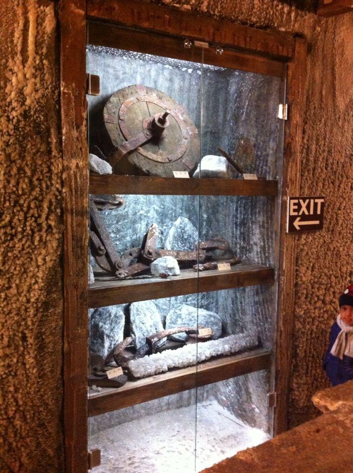Ferramentas usadas no início da mina