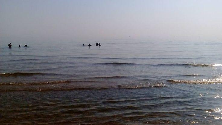#mare #spiaggia #questamattina #ore8 #vacanza #cristallino #limpido #tavola #calmapiatta #see #beach #See #Holiday #urlaub #ferien  #camping #campingplatz #abruzzo #abruzzi #abruzzen