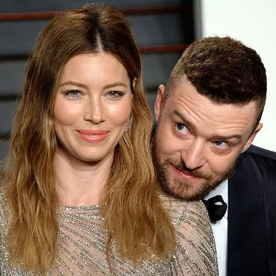 Red Carpet: Jessica Biel and Justin Timberlake Adorably Ham It Up at the Vanity Fair Oscars Party