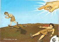 Caïn et Abel (divers visuels) - Levangelisation (section Enfants)