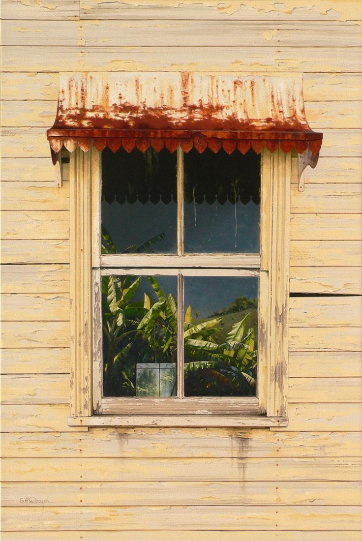 Rust & bananas - Tweed Valley 90cm x 60cm