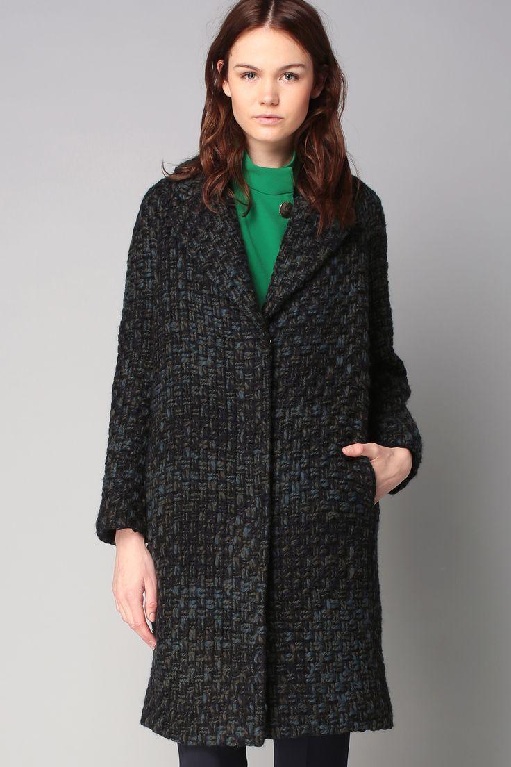 Manteau tweed laine - Tara Jarmon