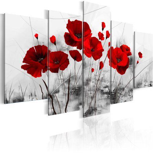 Impression sur toile 100×50 cm – 5 Parties – Image sur toile – Images – Photo – Tableau – motif moderne – Décoration – pret a accrocher –…