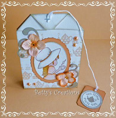 Bettys-creations: Teebeutel-Karte mit Anleitung