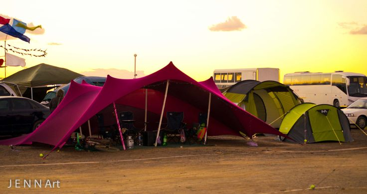 Our Afrikaburn Campsite; the Purple Palace
